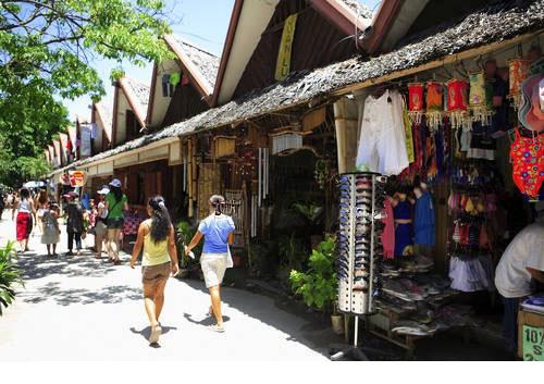 Boracay shopping